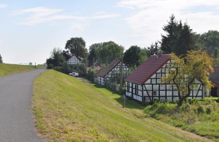 Fachwerkhäuser in Zollbrücke