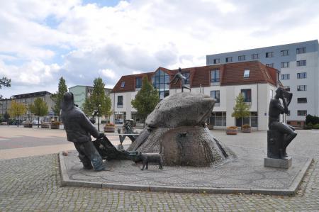 Marktbrunnen in Wriezen