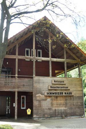 """Naturpark-Besucherzentrum """"Schweizer Haus"""""""