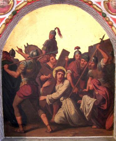 Altar - Kreuztragung