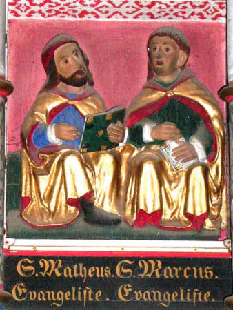 Altar - S. Matheus. Evangeliste / S. Marcus. Evangeliste
