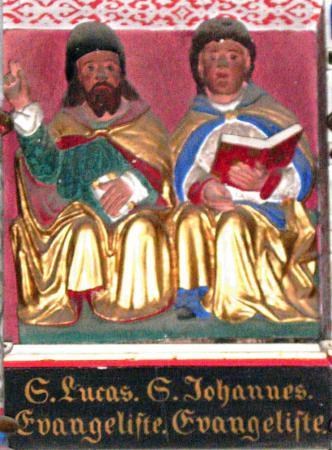 Altar - S.Lucas. Evangeliste / S.Johannes. Evangeliste