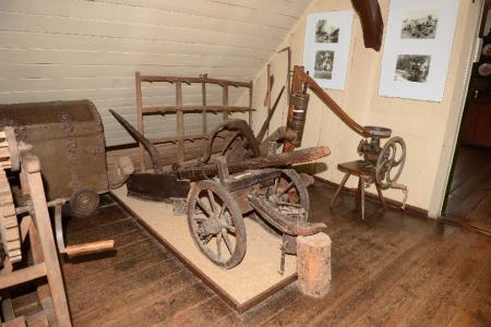 alte Geräte aus der Landwirtschaft