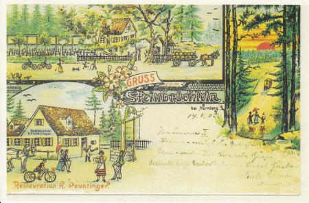 Ansichtskarte von 1905