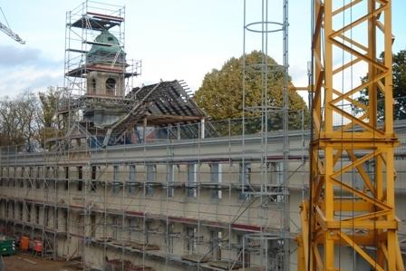 Bauphase Altes Gymnasium Neuruppin