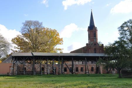 Klosterruine in Altfriedland