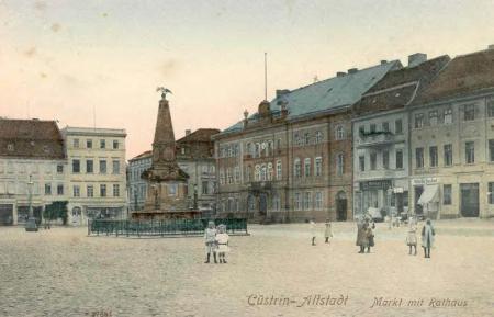 Marktplatz Küstrin