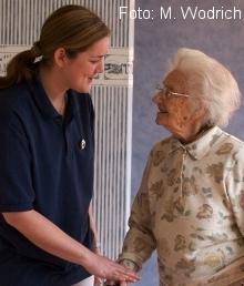 Betreuung von Alzheimerpatienten