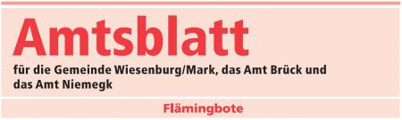 Amtsblatt Fl&#228;mingbote Logo