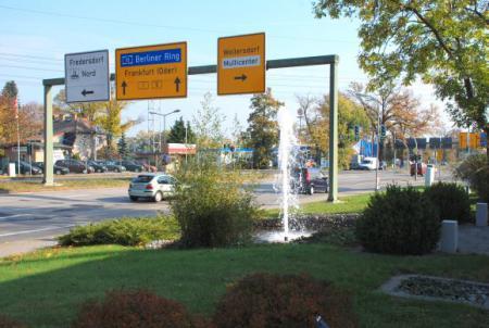 An der B1 in Vogelsdorf