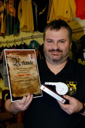Ehrenpreis für Andreas Luther