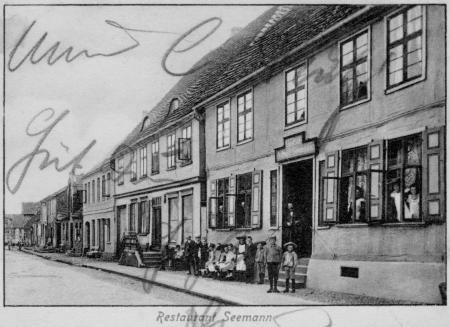 Ansichtskarte Restaurant Seemann von 1911 oder früher