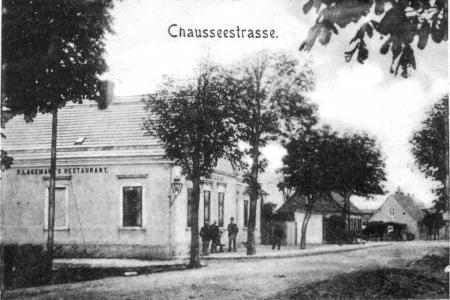 F. Lagemann´s Restaurant auf einer Ansichtskarte von 1902 oder früher