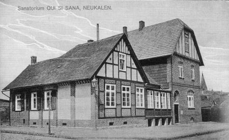 Ansichtskarte Sanatorium QUI SI SANA