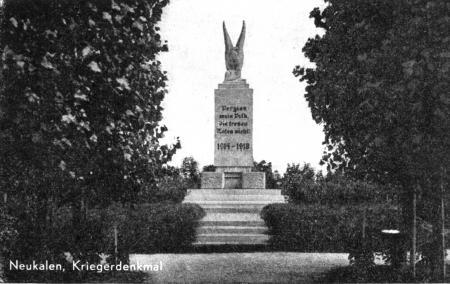 Das Denkmal 1914 - 1918 (2)