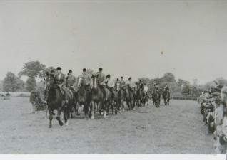 Aufmarsch 1950