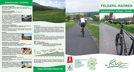Flyer Radweg Aussenseite