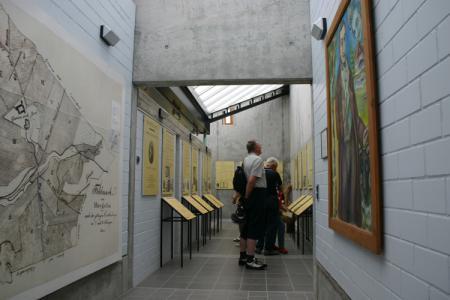 Ausstellungsräume in der Gedenkstätte