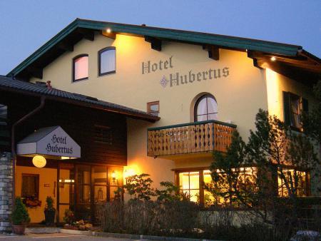 Hotel Hubertus Garni Abendansicht