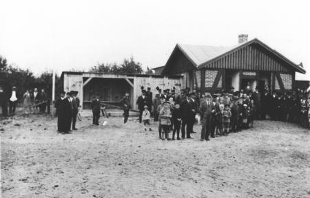 Einweihung der neuen Badeanstalt am 5.8.1928