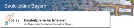 Bauleitpläne im Internet