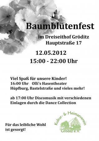 Baumblütenfest Plakat