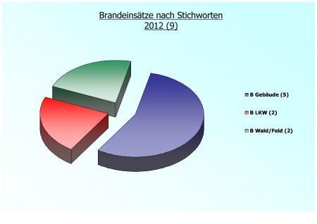 Einsatzstatistik B 2012