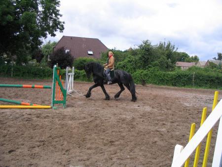 Beiritt_Carola Brucker bei der Ausbildung auf Vokke