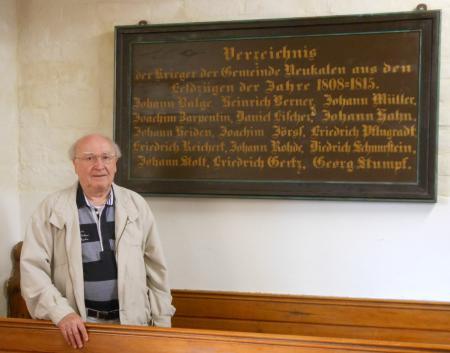 Bernd Görtz, der Autor des Beitrages, besuchte am 17. September 2012 die Kirche in Neukalen