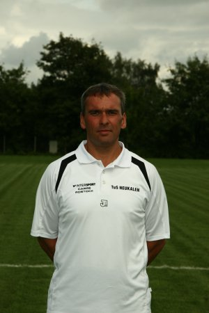 Trainer Bernd Lucka