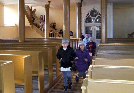 Besuch der Kirche