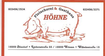 Schwein Höhne