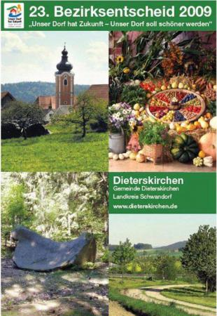 Bezirksentscheid Unser Dorf hat Zukunft