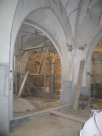 Sanierungsarbeiten im Jahre 2002