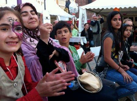 kulturvoll Kinder beim Gauklerfest 2012 in Berlin