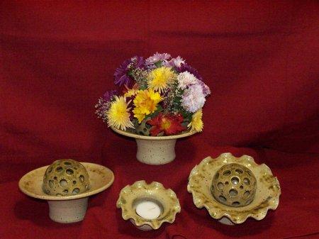 Blumensteckschalen