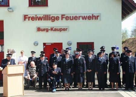 Einweihung Gerätehaus Burg-Kauper 2012