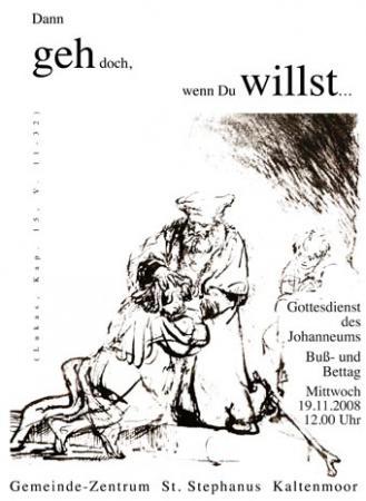 Bußtag 2008 (Plakat)