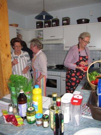 Sommerleichte Küche