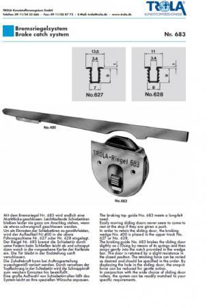 Bremsriegelsystem