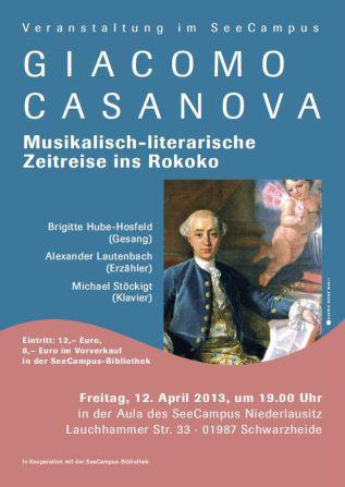 Plakat Casanova