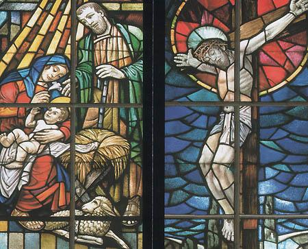Fenster in der Auferstehungskirche