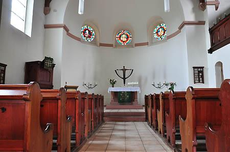 Innenraum der Christuskirche