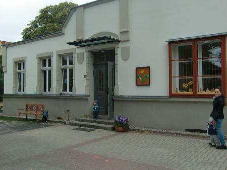 Unsere Eingangstür