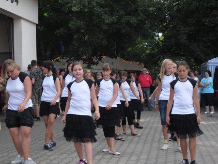 Tanzgruppe Sekundarschule Muldenstein