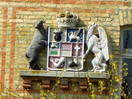 Wappen am alten Amtsgericht