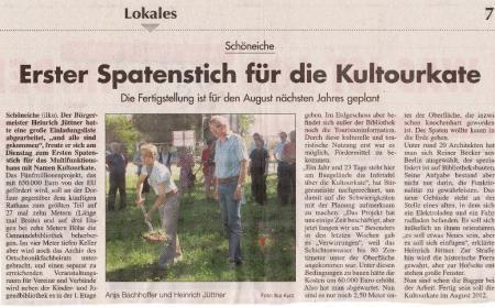 Märkischer Sonntag, 03/07/2011