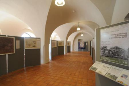 Refektorium historische Karten