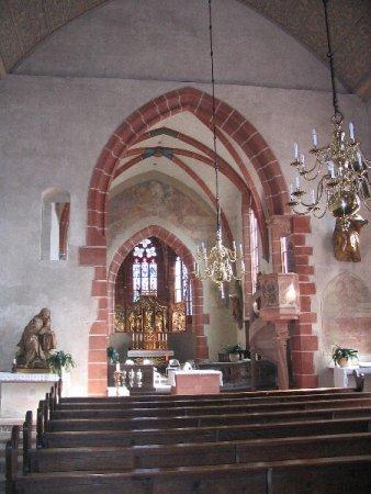 Inneres der Klosterkirche