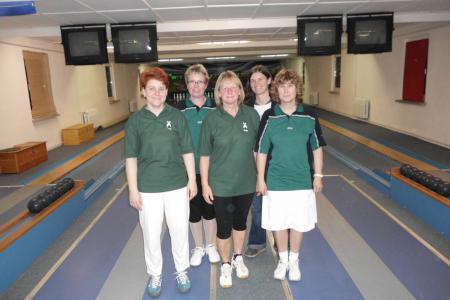 Damenmannschaft des Brieselanger SV